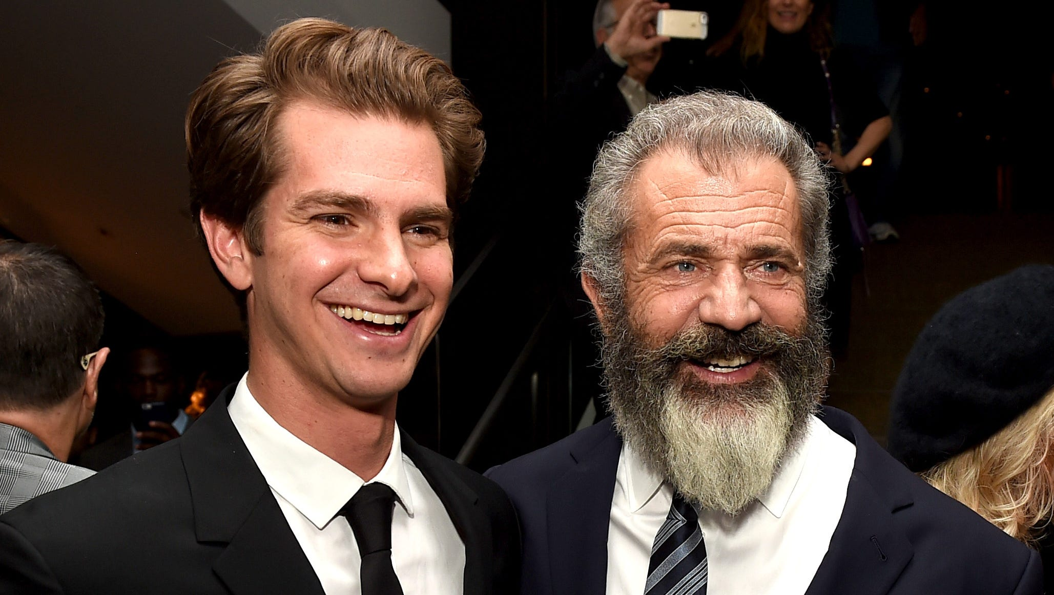 Andrew Garfield And Mel Gibson Q A