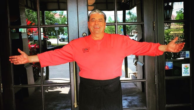 Chef Eddie Vozzella of University Grill in south Fort Myers.