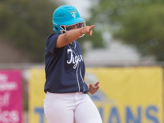 Carroll's Jeannette Hernandez hit .311 for the Tigers in 2016.