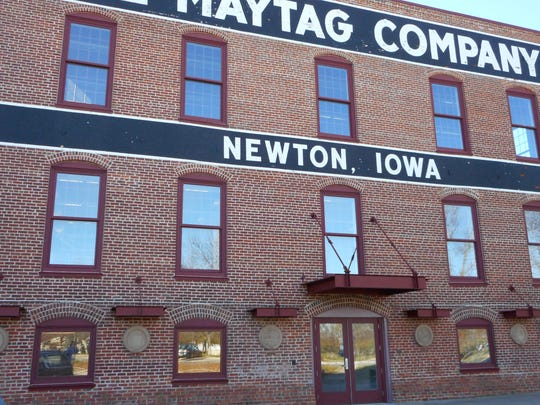 Hubbell Realty Co. plans to convert two former Maytag offices in Newton into 42 apartments.