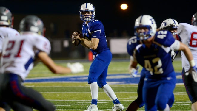 Tanner Ellenberger and Brevard are the road team for Thursday's football game at Tuscola.