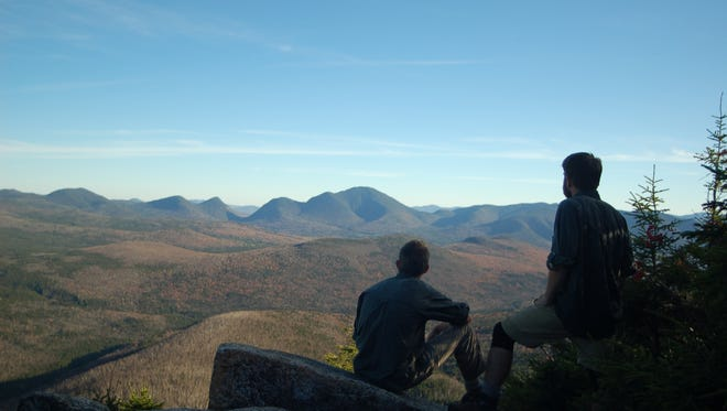 Bryan Wolf (left) and Joe White hiked the Appalachian Trail together in 2007. Three years later, they opened Roads Rivers and Trails, an outfitter in Milford, that just celebrated it's 5-year anniversary.