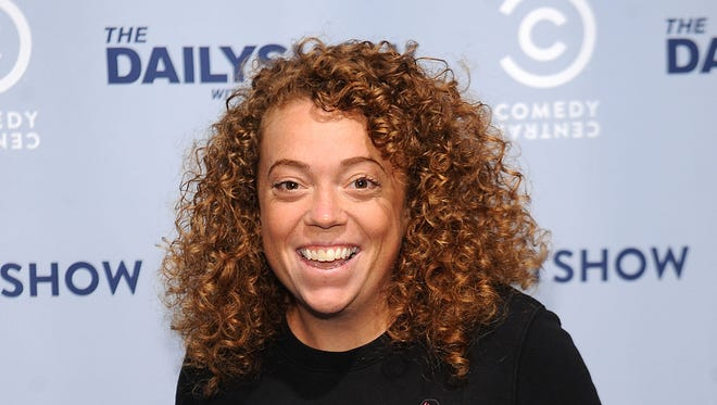 Michelle Wolf attends Comedy Central's The Daily Show With Trevor Noah Premiere Party Event on Oct. 22, 2015, in New York City.