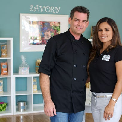 Edward and Iovana Johnson are owners of Popped Perfections