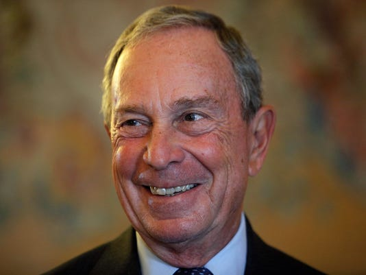Britain Bloomberg Knighthood