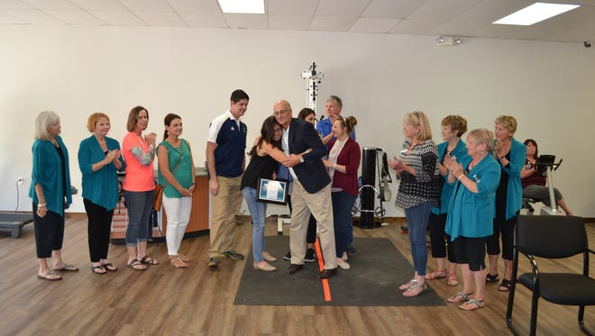 Owners Paul and Renee Regalado, of Therapy Associates, unveiled their new location at 628 Sudderth Drive, during the Ruidoso Valley Chamber of Commerce's Business After Hours event.