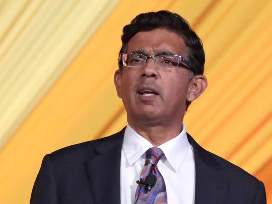Author and filmmaker Dinesh D'Souza the keynote speaker