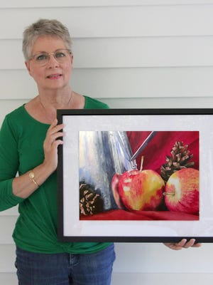 Artist Ronda Bryce's favorite theme is still life. She is the Artist of the Month for October selected by the North Augusta Artist Guild.