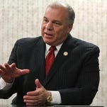 Senate President Stephen M. Sweeney has clashed with the governor on pensions.