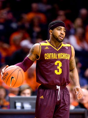 Central Michigan Chippewas guard Marcus Keene.