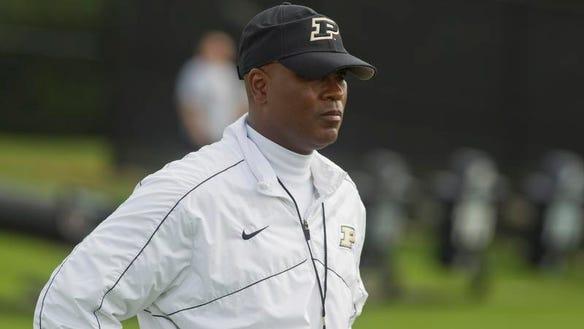 Darrell Hazell Purdue football coach
