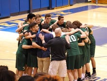 Ramapo boys volleyball team growing up in a hurry