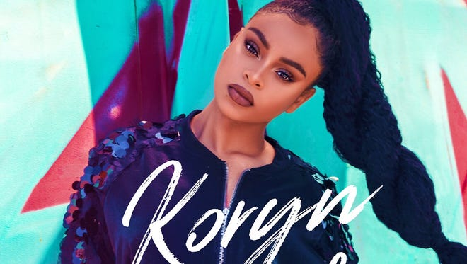 """Koryn Hawthorne, a 2015 finalist on """"The Voice,"""" appears on the cover of her debut album, """"Unstoppable."""""""