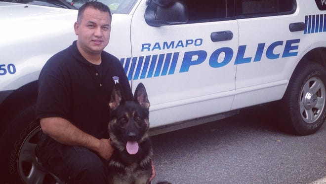 Police Officer Andres Sanchez and Rookie