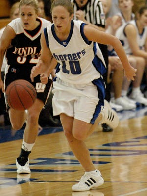 Former Stockton star Stephanie Heid holds the top four single-season steals records in Hillsdale College history, with a career total of 464 at the NCAA Division II school.
