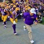 Les Miles and the LSU Tigers will be the visiting team Saturday at Tiger Stadium against South Carolina.