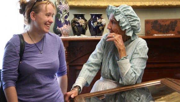 The Emily L. Knapp museum reopens.