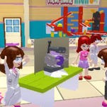 """In """"LEGO Friends,"""" a video game based on a popular set of LEGO construction sets, girl gamers explore friendship as they go on missions to help others."""