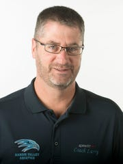 Larry Hough, Hardin Valley Academy swim coach on Wednesday,