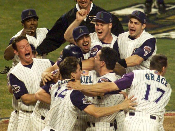 Diamondbacks win World Series Nov. 4, 2001 | A moment