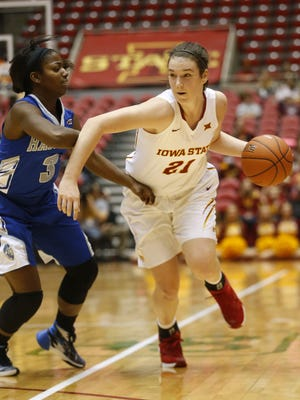 Iowa State freshman Bridget Carleton could be out for awhile.