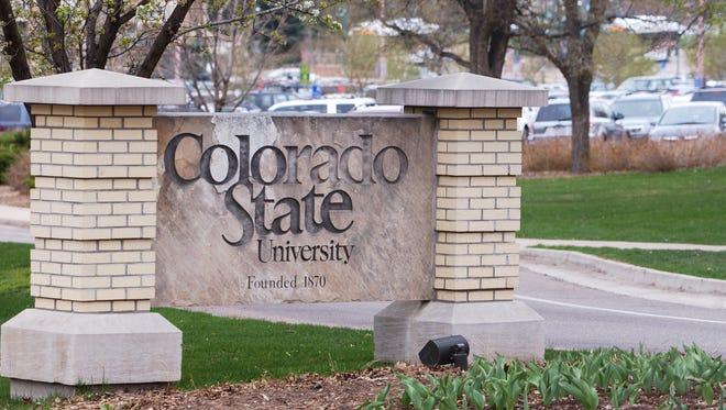 CSU sign.