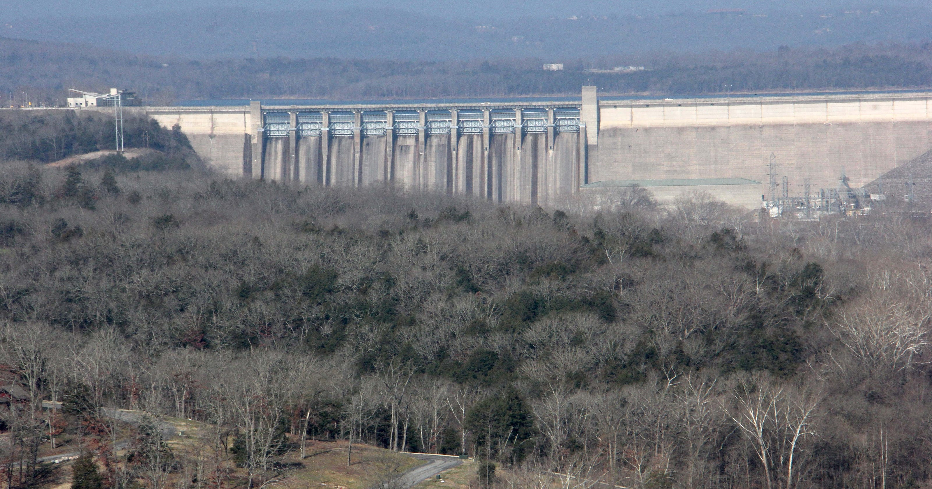 Spillway Gates At Table Rock Lake