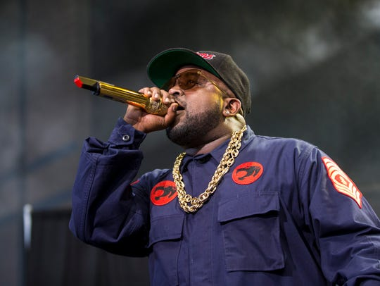 Big Boi opens for the Weekend at the American Family
