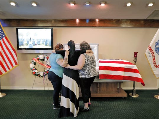 Family and friends of World War II veteran Harry Edward Steen Sr. said goodbye to the Bataan Death March survivor Tuesday evening at Sunset Funeral Home in East El Paso. Steen died Saturday at his East Side home. He was 97.