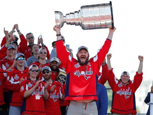 USP NHL: WASHINGTON CAPITALS-STANLEY CUP CHAMPIONS S HKN USA DC