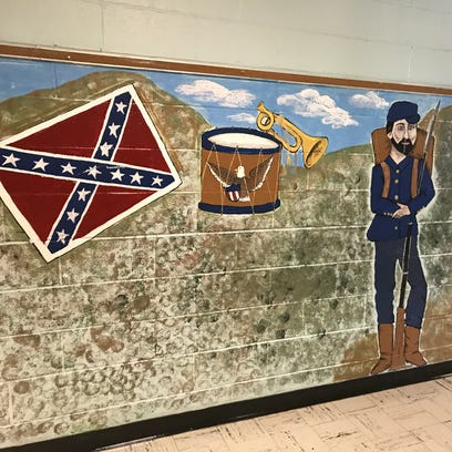 Wappingers: Elementary school mural depicting Confederate flag called into question