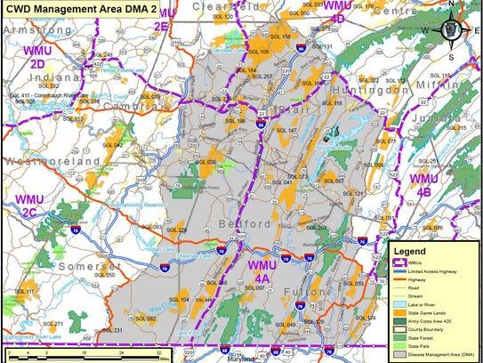 Twelve New Cases Of CWD Reported In Pennsylvania Deer