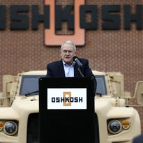 Wisconsin-based Oshkosh Corp. has won a major contract to build a new combat vehicle to replace a large share of the military's Humvee troop carriers.