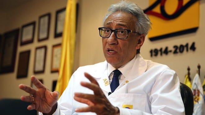 El director del Instituto de Medicina Legal y Ciencias Forenses, Carlos Valdés.