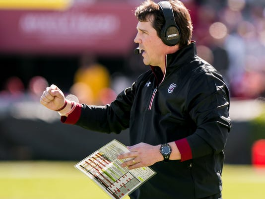 NCAA Football: Massachusetts at South Carolina