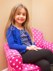 Sofia Tepper, who celebrated her sixth birthday while