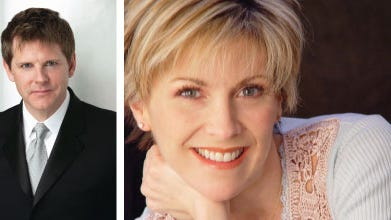 Gary Mauer and Elizabeth Southard perform Saturday as part of Shreveport Symphony Orchestra's Holiday Pops.