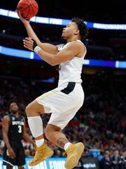 Carsen Edwards was Purdue's first winner of the Jerry West Award, given to college basketball's top shooting guard.