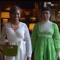A scene from VH1's 'Sorority Sisters,' now drawing controversy.