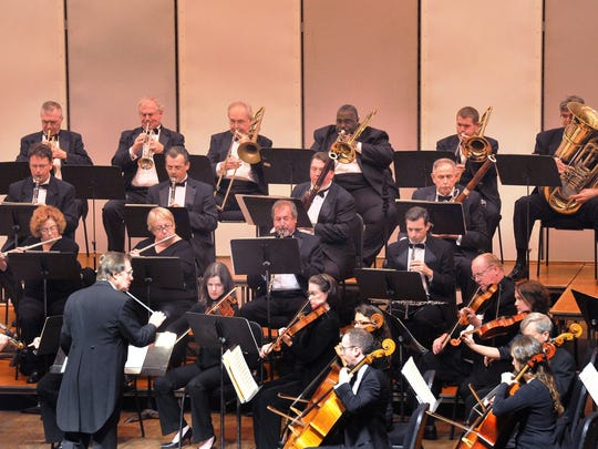 The Wichita Falls Symphony Orchestra performs at Memorial