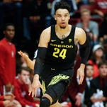Oregon's Dillon Brooks again named Pac-12 player of the week