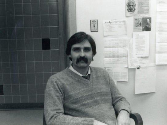 Professor Dr. Alan White in 1985
