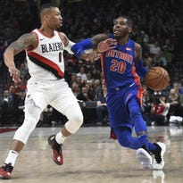 Pistons lose to Trail Blazers, point finger at officials