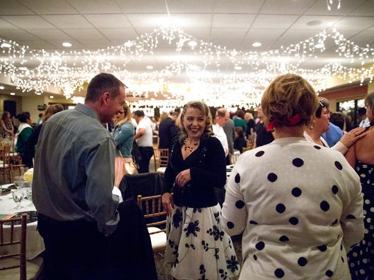 Community members participate in the annual Farmington Chamber of Commerce awards banquet on Feb. 2 at the San Juan Country Club in Farmington.
