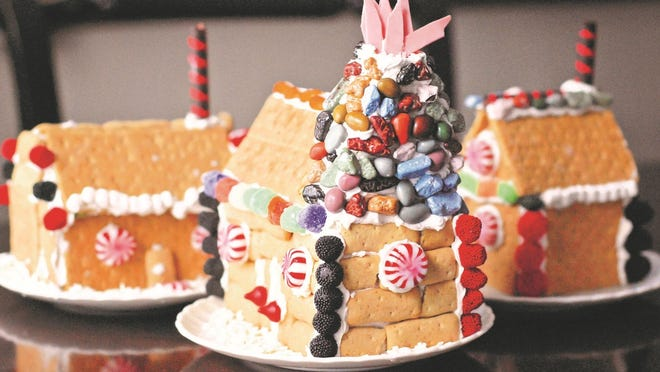 Youths ages 3 to 12 years of age can make and decorate a gingerbread house on Saturday at the Deane Center in Wellsboro.