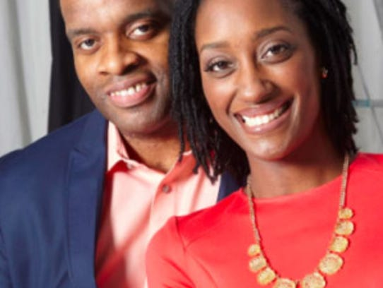 """Talaat and Tai McNeely run the """"His & Her Money"""" podcast,"""