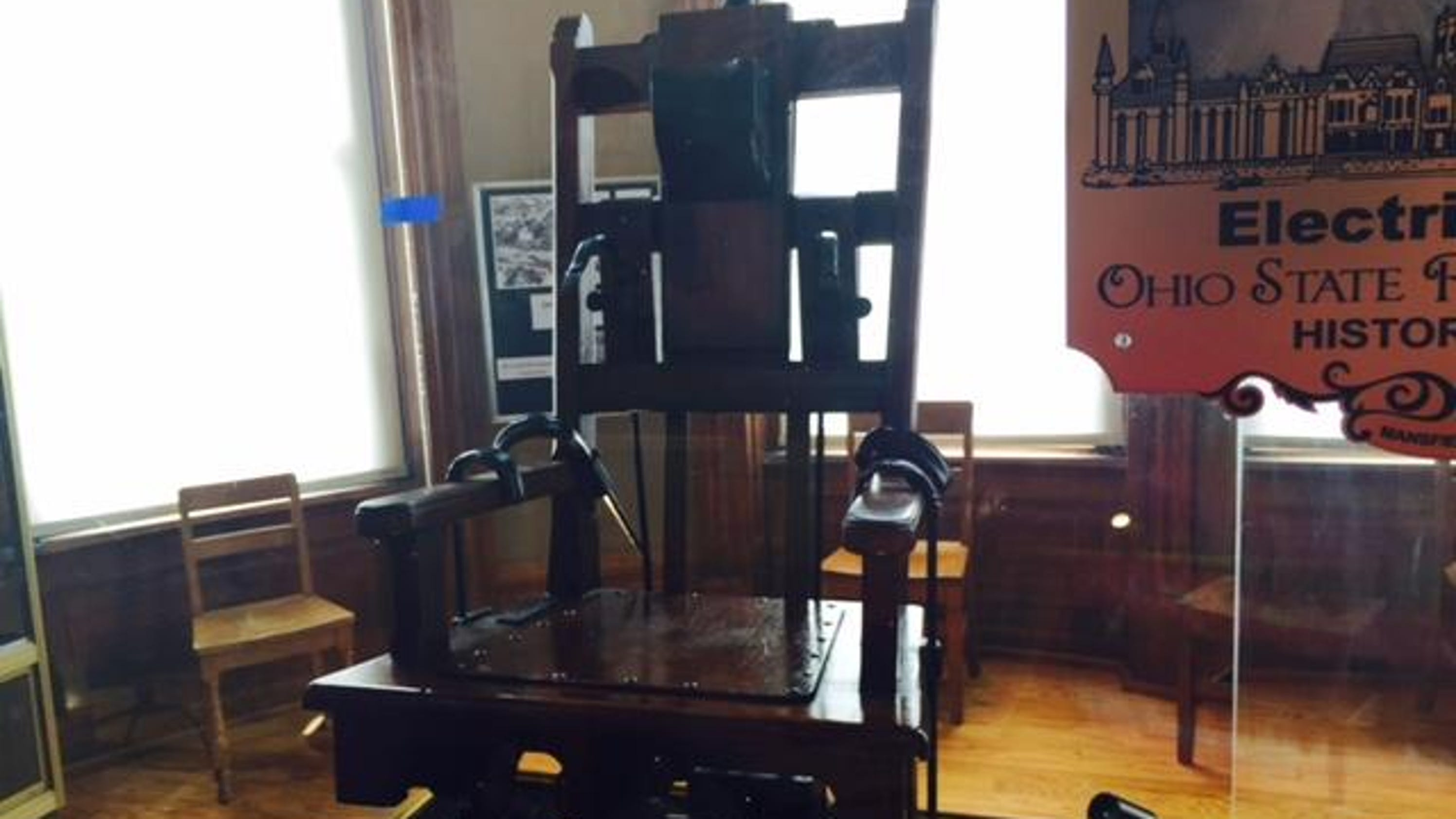 Ohio s original Old Sparky electric chair es to OSR