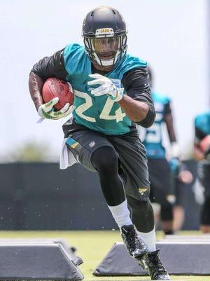 Former Alabama RB T.J. Yeldon will make his NFL debut Friday for the Jacksonville Jaguars.