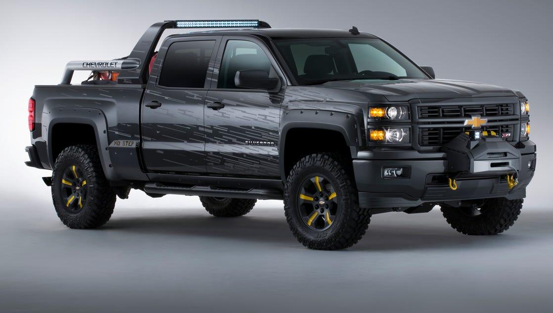 Black Ops Silverado >> Chevrolet shows apocalyptic Black Ops Silverado