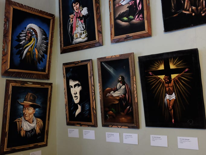 There are lots of iconic and religious displays of